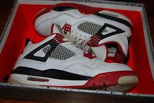 Men's 2012 Nike Air Jordan IV 4 Retro Fire Red Sneakers (8.5) 308497-110