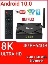 Android 10.0 TV Box, TICTID 4GB RAM 64GB ROM T8 PRO WiFi 2.4G/5G Smart TV Box 8K