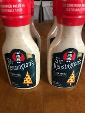 4 Sir Kensington's Pizza Ranch Dressing & Dipping Non GMO Paleo Cert. Loc. 997