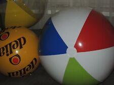 Riesen Wasserball Weiß, Grün, Blau, Rot, inflatable Beach Ball 36