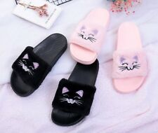 Winter Indoor Fashion Slippers Shoes Women For Bedroom Warm Soft Bottom Flats