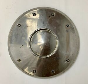 1960 1961 1962  Ford Hubcap Dog Dish/Poverty Hubcap nice used