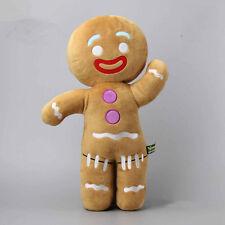 Shrek Adventure Gingerbread Man Gingy Plush Toy Soft Stuffed Animal Doll 19''