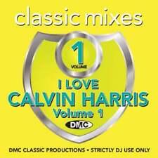 I Love Calvin Harris Continuous Megamixes, Mixes & Two Trackers DJ CD ft Rihanna