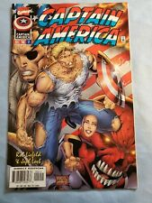 Captain America #2 (Dec 1996, Marvel) Liefeld, Loeb