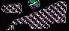 NEW Pickguard + truss rod cover Les Paul - DESIGN Metal - pour toutes LP