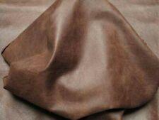 NOORA Lambskin Goat Skins Leather Hide online: Gringo Antique Brown 5 SqFt SB101