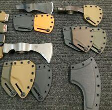 Custom kydex tomahawk sheath, Cold steel, CRKT, SOG, Fiskars, made to order