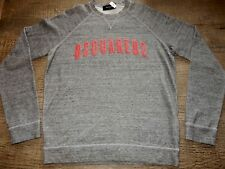 $380 New Mens Dsquared2 Sweatshirt, Dsquared2 Mountaineer Pullover Sweater Large