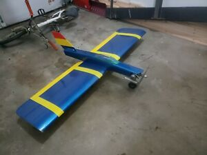 rc airplane ....for savvier rc pilot....extreme 66in wing span