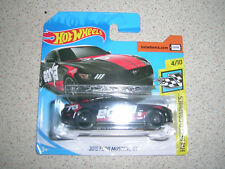 HOT WHEELS SPEED GRAPHICS 2015 FORD MUSTANG GT IN BLACK BORLA SHORT CARD