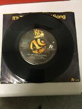 "KC AND THE SUNSHINE BAND It's The Same Old Song/Let's Go Party 7"" 45RPM TK 1028"