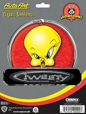 Licensed Warner Bros Looney Tunes Tweety Classic Emblemz Chroma Graphics Car Suv