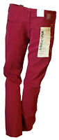 Pantalone Casual Tasche Gamba Dritta Fit Regular Uomo Rosso MELTIN'POT  47 W33