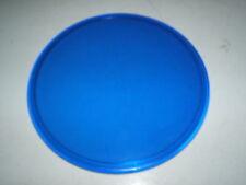 """Vintage Blue 6 1/4"""" Railroad RR Lantern Marker Signal Lens Caboose 24"""