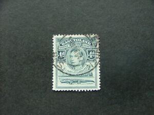 Basutoland KGVI 1938 4d grey SG23 G-FU