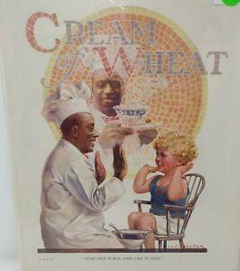 Vintage Antique 1924 Print Advertisement Ad Cream Of Wheat