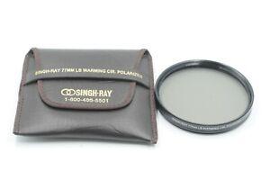Singh-Ray 77mm LB Warming Cir. Polarizer Filter #J51541