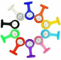 Nurse watch Silicone Brooch Tunic Fob Watches UK Stock