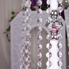String Curtain Room Divider Crystal Bead Door Window Panel Wedding Fringe Beaded