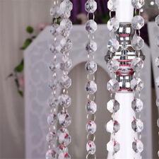 String Curtain Room Divider Crystal Bead Door Window Panel Wedding Fringe Beaded