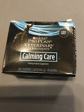 PURINA PRO PLAN CALMING CARE VETERINARY SUPPLEMENTS 43 SACHETS exp. 01/2021