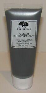 Origins Clear Improvement Active Charcoal Mask 2.5 Oz 75 mL Full Size fresh new