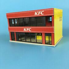 Outland Models Railway Scenery Layout KFC Restaurant Building Model N Scale