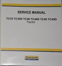 New Holland TC35 TC35D TC40 TC40D TC45 TC45D Manual De Servicio reparaturhandbuch
