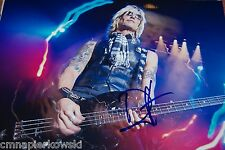 Duff McKagan signed by 8x10 Guns n Roses