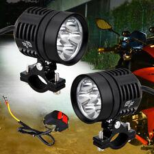 T6 10 W LED moto guida nebbia faro faretto con paralume per auto camion atv-black