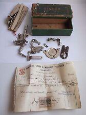 Singer Vintage box Simanco parts sewing machine 1935