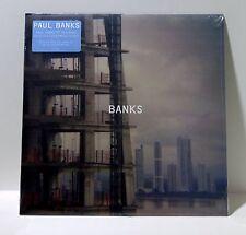 PAUL BANKS Banks VINYL LP Sealed 2012 Matador Interpol