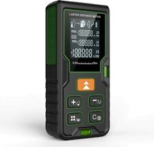 Klearlook Advanced Laser Measure Distance Meter With Carry Pouch And Battery