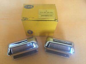 Opel Manta, Ascona A, B Rekord C, D Hella Kennzeichenleuchte License Lights NOS