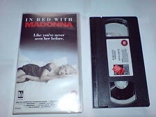 MADONNA IN BED WITH MADONNA - VHS