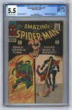 Amazing Spider-Man #37 1st Norman Osborn MCU Spider-Man 3 No Way Home CGC 5.5