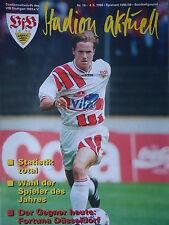 Programm 1995/96 VfB Stuttgart - Fortuna Düsseldorf