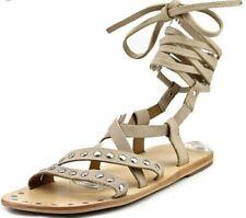 Charles By Charles David Steeler Leather Gladiator Sandal Women SZ 9.0 M,- 12215