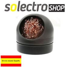 Limpiador para puntas de soldador con soporte Bola de latón Cleaning ball H0100