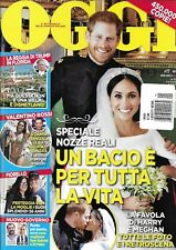 Oggi Magazine Meghan Markle Prince Harry Royal Wedding Donald Trump Star Wars