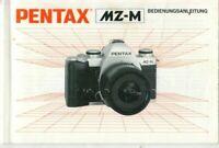PENTAX - MZ-M - Bedienungsanleitung für Kamera - H-4089