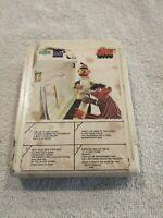 Sesame Street - Bert & Ernie Sing Along - 8 Track Tape