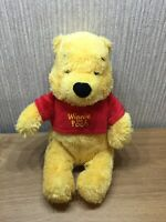 Disney Winnie The Pooh Plush Soft Toy Collectable Teddy Large 11 Inch