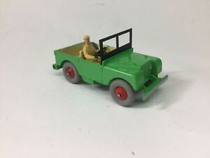 Dinky Green Land Rover(repaint)