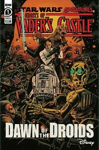 STAR WARS ADVENTURES GHOST OF VADERS CASTLE #1 - DISNEY - IDW Comics 2021