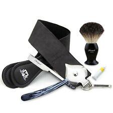 Haryali Straight Cut Throat Shaving Razor Set With German Strop Paste Gift Set