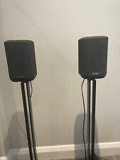 Denon Home 150 (x 2) with Denon SoundXtra Floor Stands (x 2)