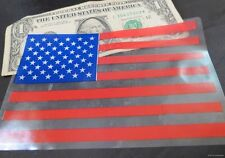WHOLESALE LOT OF 250 AMERICAN FLAG WINDOW STICKERS DECALS 5X4 Car Auto USA MADE