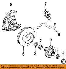 TOYOTA OEM 91-94 Pickup Brake-Disc Rotor 4351235140